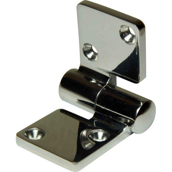 4Dek Stainless Steel Hinge (100mm x 50mm / Left Hand)