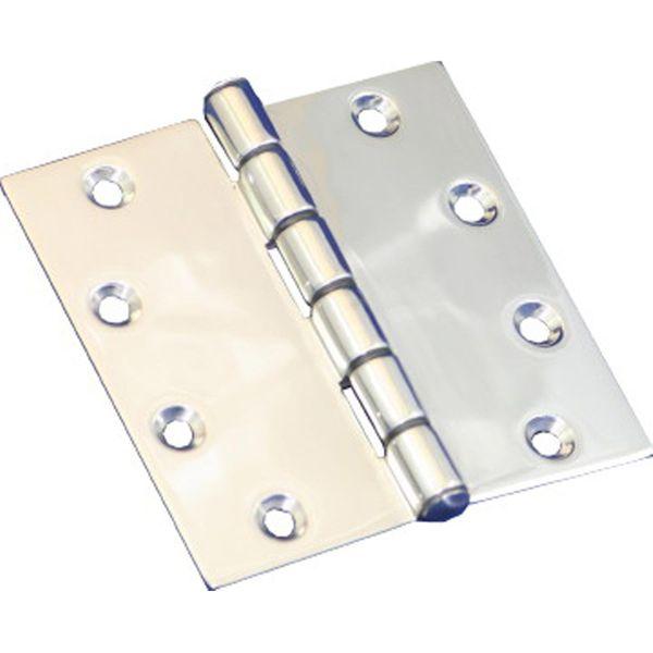 4Dek Heavy Duty Hinge in Stainless Steel (76mm x 76mm / Standard Pin)
