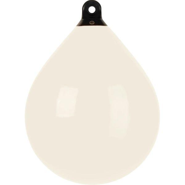 Dan-Fender White Balloon Fender for > 46' Boats (610mm OD x 790mm)