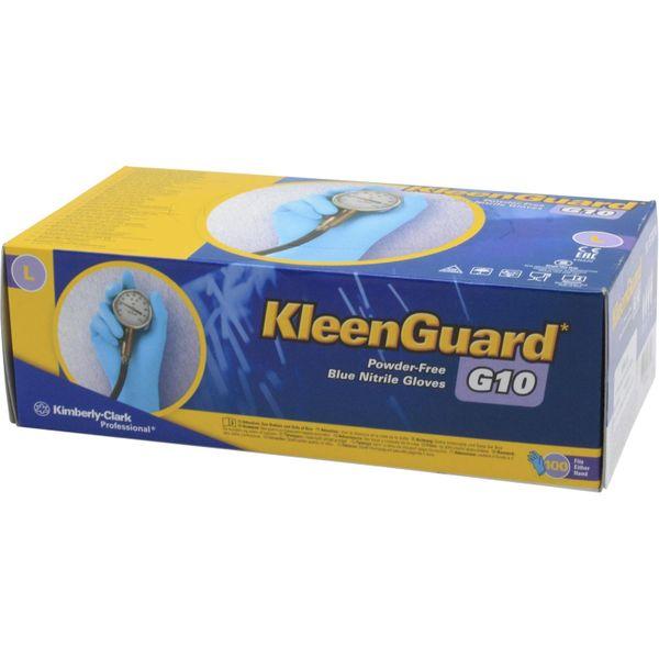 ASAP Premium Powder Free Nitrile Blue Gloves (Large / Pack of 100)