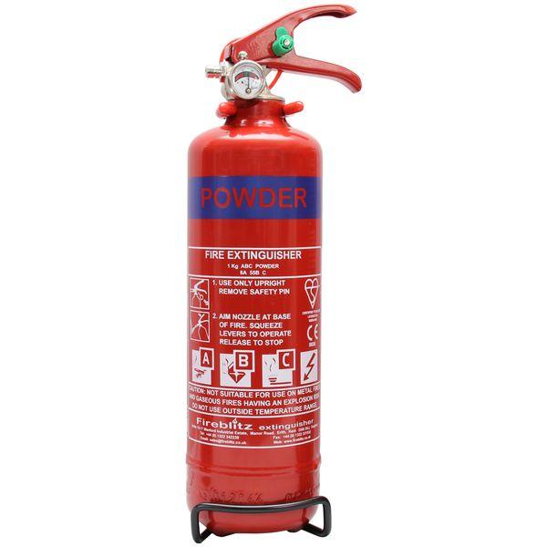 FireBlitz Dry Powder Fire Extinguisher (1kg)