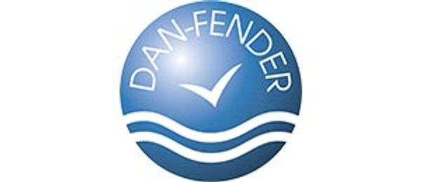 Dan-Fender Blue Corner Pontoon Fender (250mm Wide x 250mm Long)