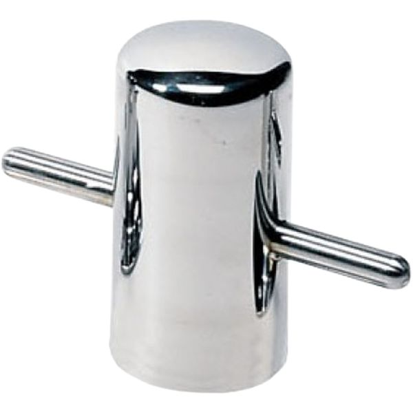Vetus Weld On Stainless Steel Bollard (121mm Height / 60mm Diameter)
