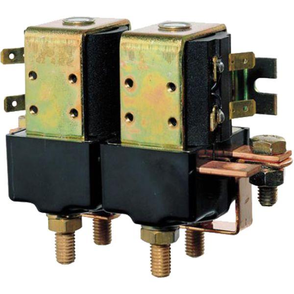 Vetus Dual Solenoid Relay (12V / 1500W / M8)