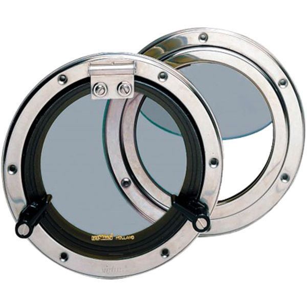 Vetus PQ53 Stainless Steel Porthole (176mm Diameter)