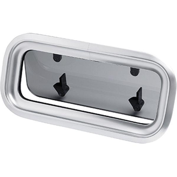 Vetus PZ611 Aluminium Porthole (279mm x 142mm)