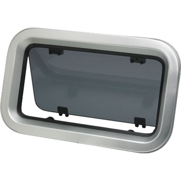 Vetus PZ651 Aluminium Porthole (399mm x 190mm)