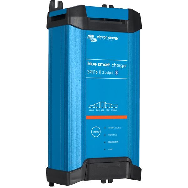 Victron Blue Smart Battery Charger with 3 Outputs (24V / 16A)