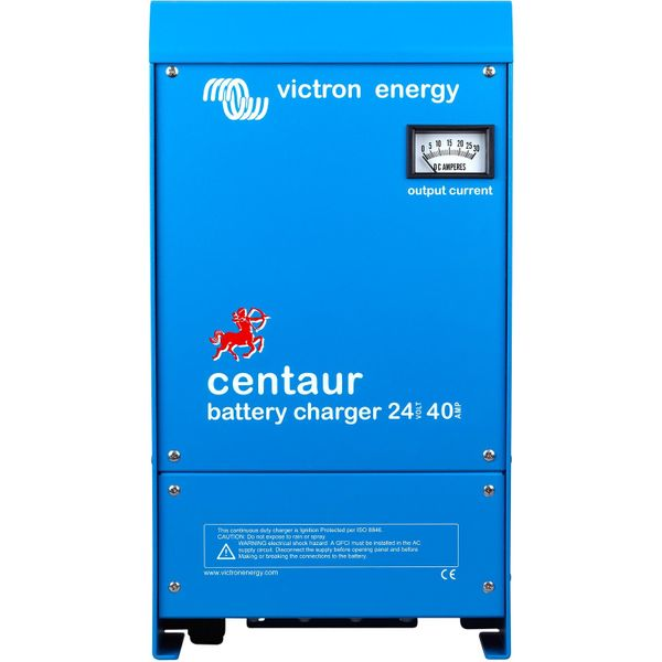 Victron Centaur Automatic Battery Charger with UK Plug (24V / 40A)