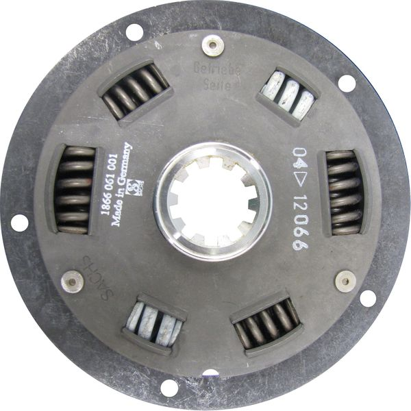 Spring Damper Drive Plate (ZF Hurth Gearbox Spline, 157mm Diameter)