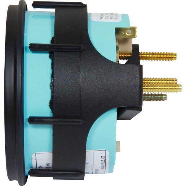 Faria Beede Tacho/Hourmeter Industrial Black (3000RPM / Alt / Gen)