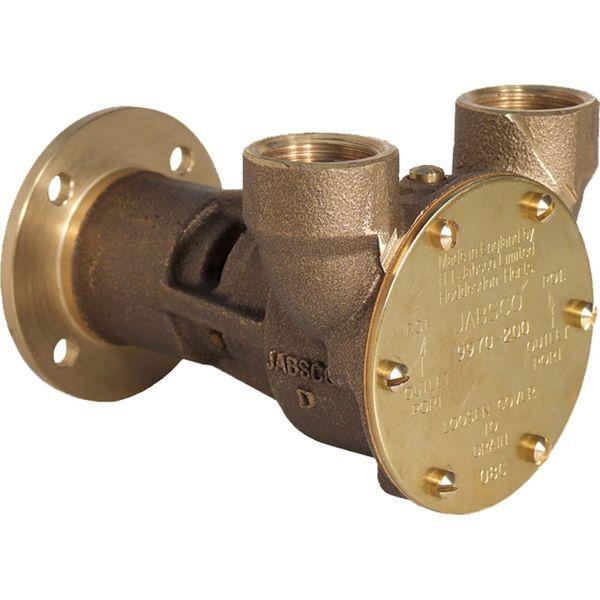 """Jabsco Flange Mounted Engine Cooling Pump 9970-200 (3/4"""" BSP Ports)"""