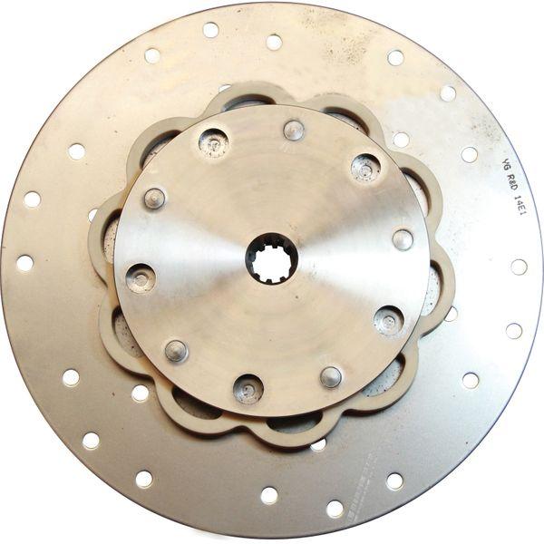 R&D Drive Plate For PRM (10 Teeth Spline, 298.5mm OD, 180 lbft Torque)