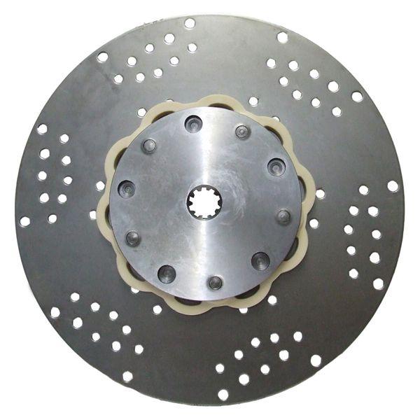 R&D Drive Plate For PRM (10 Teeth Spline, 362mm OD, 400 lb ft Torque)