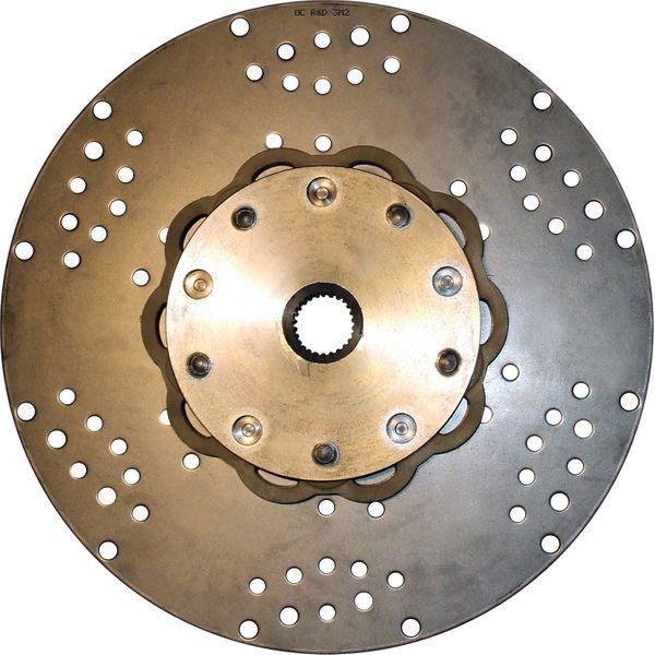 R&D Drive Plate For Borgwarner (26 Teeth Spline, 362mm OD, 400 lb ft)