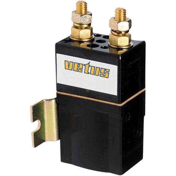 Vetus Single Solenoid Relay (24V / 3000W / M8)