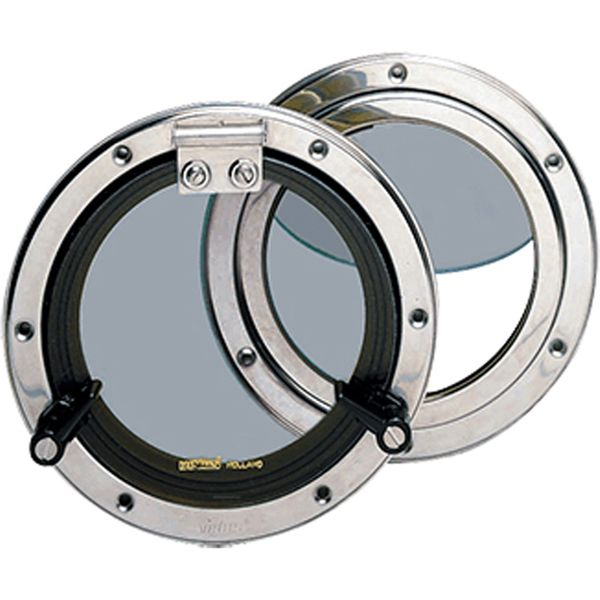 Vetus PQ51 Stainless Steel Porthole (126mm Diameter)