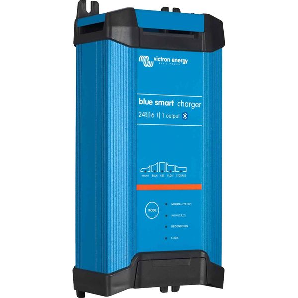 Victron Blue Smart Battery Charger with 1 Output (24V / 16A)