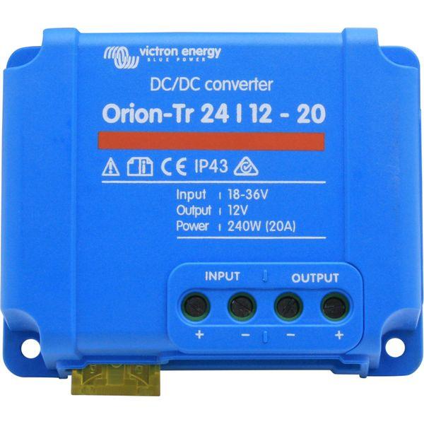 Victron Orion-Tr Voltage Converter (24V - 12V DC / 20A)