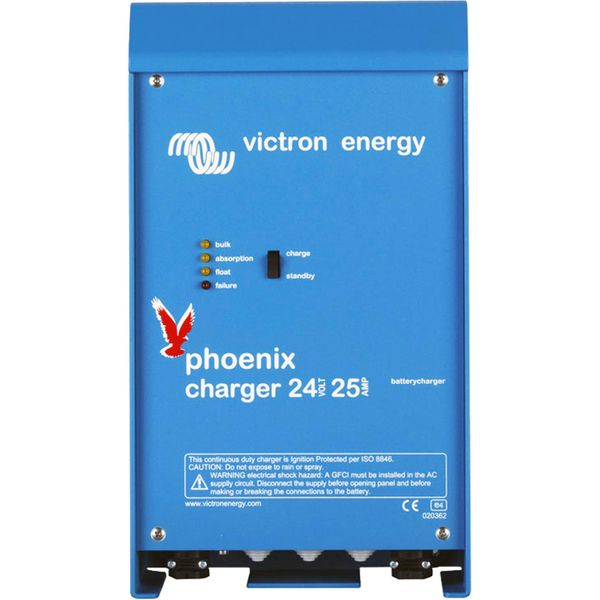 Victron Phoenix Automatic Battery Charger (24V / 25A)
