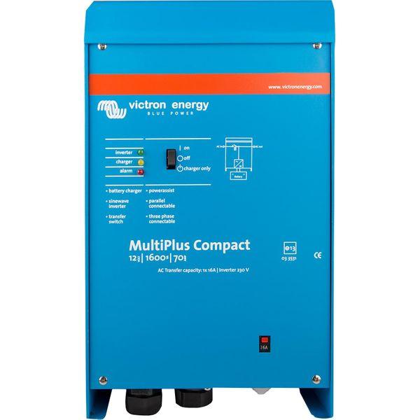Victron MultiPlus Compact Inverter/Charger (12V / 1600VA)