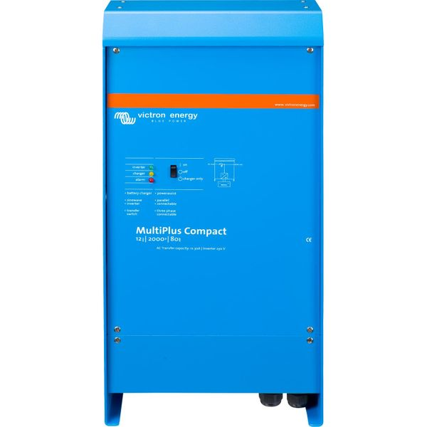 Victron MultiPlus Compact Inverter/Charger (12V / 2000VA)