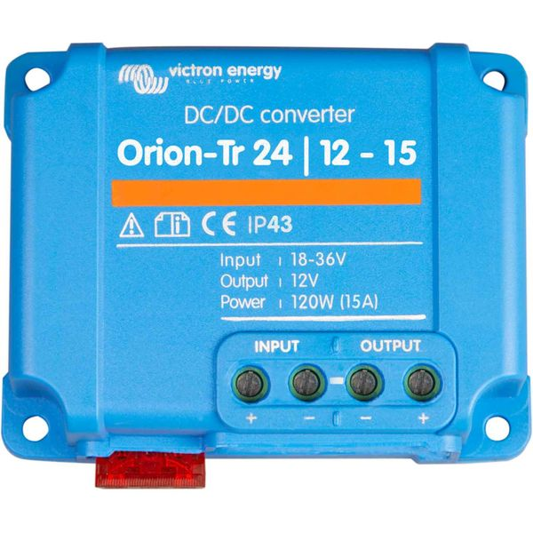Victron Orion-Tr Voltage Converter (24V - 12V DC / 15A)