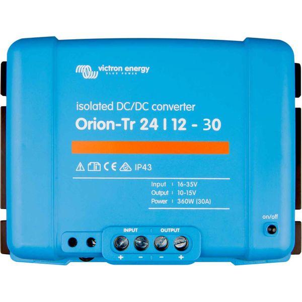 Victron Orion-Tr Voltage Converter (24V - 12V DC / 30A)