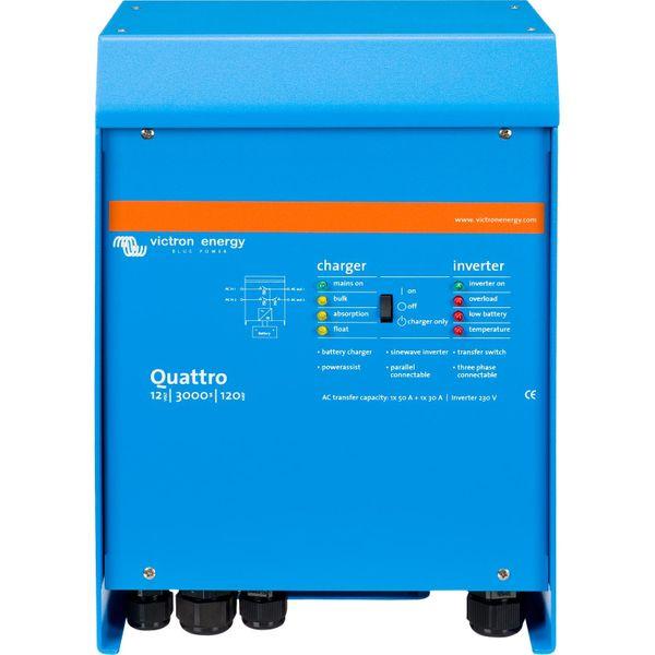 Victron Quattro Inverter/Charger (12V / 3000VA)