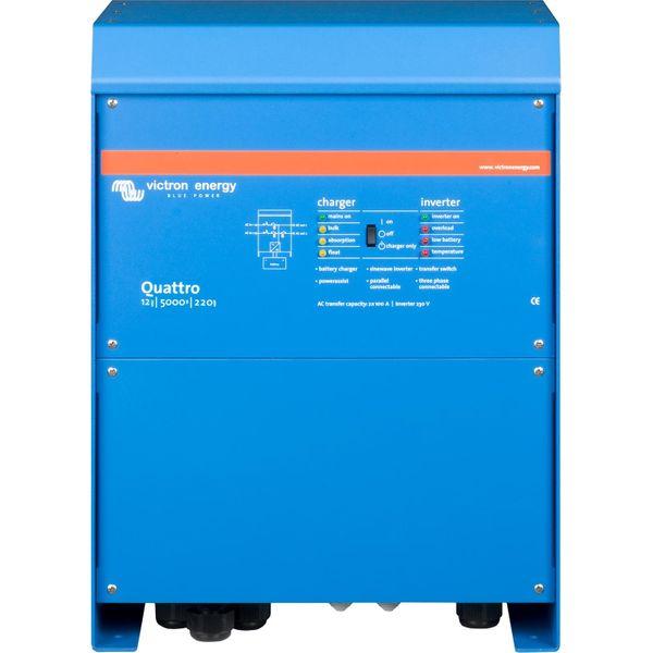 Victron Quattro Inverter/Charger (12V / 5000VA)