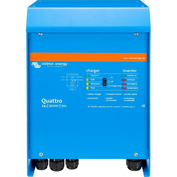 Victron Quattro Inverter/Charger (24V / 3000VA)