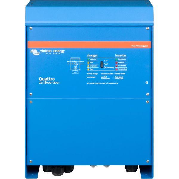 Victron Quattro Inverter/Charger (24V / 8000VA)
