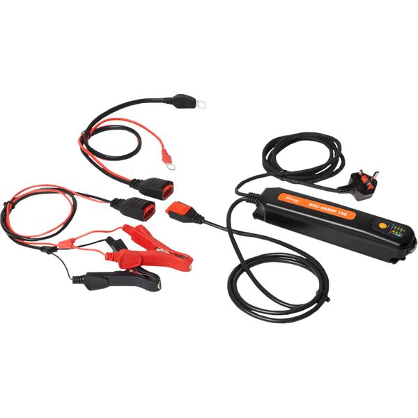 WhisperPower Fully Automatic Portable UK Battery Charger (12V / 15A)